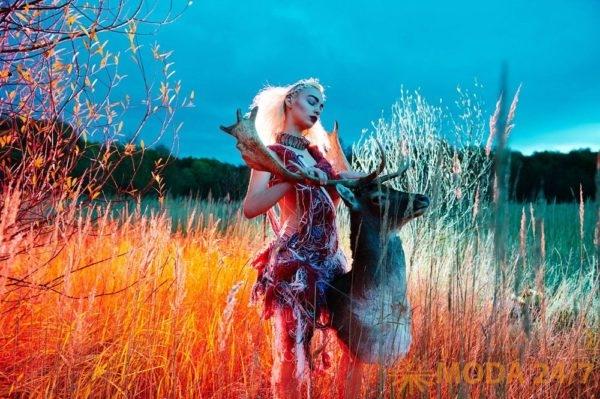 Фотопроект My Deer создан фотографом Юлей Бурулевой (www.buruleva.com) при участии стилистов Натальи Копниной и Натальи Николаевой