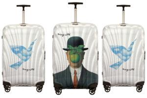 René Magritte и капсула Samsonite