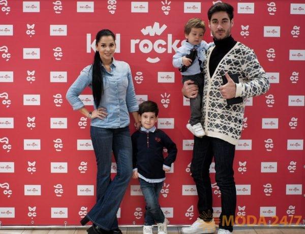 Юлия и Тигран Салибековы с детьми