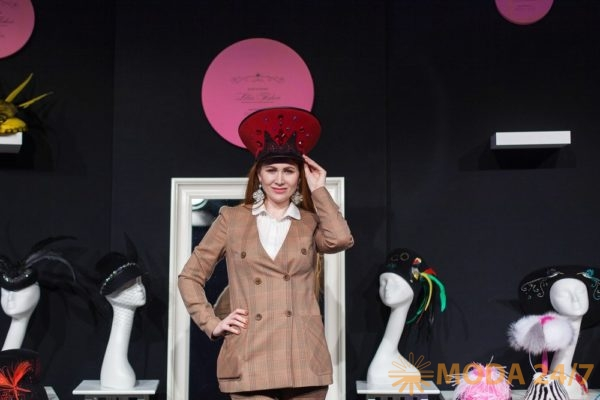 Гость презентации Дома шляпки Lilia Fisher