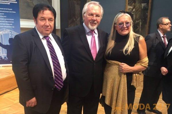 Адександр Митрошенков, Павел Гусев и Татьяна Михалкова