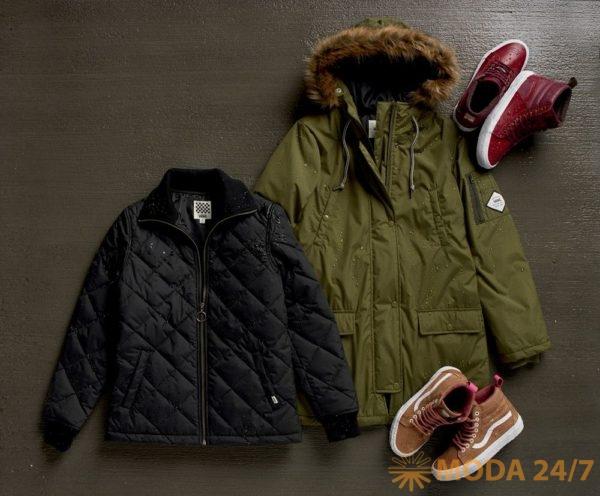 Diggit Jacket, Fuego Parka и обувь Vans