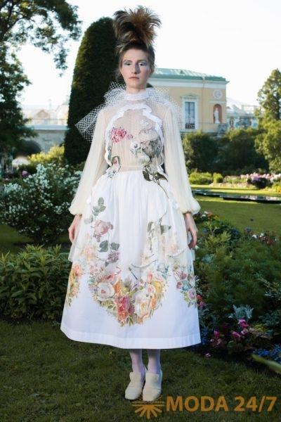ВИДЕО: ТАТЬЯНА ПАРФЁНОВА haute couture SS-2016 «Жабо»