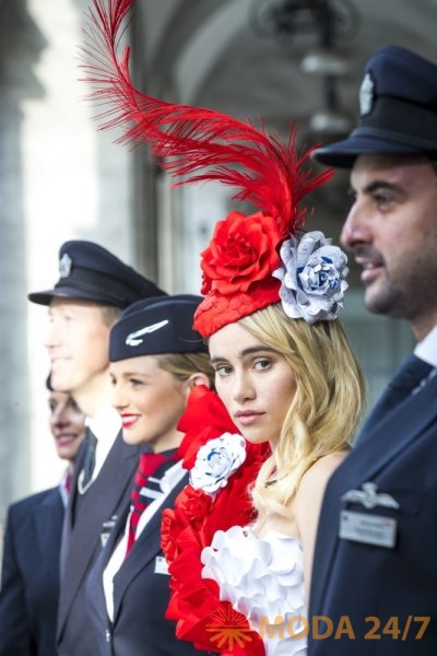 Сьюки Уотерхаус (Suki Waterhouse) для British Airways