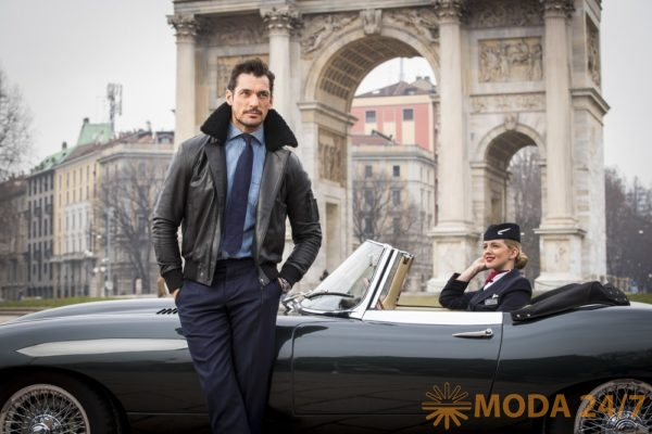 Дэвид Ганди (David Gandy) для British Airways