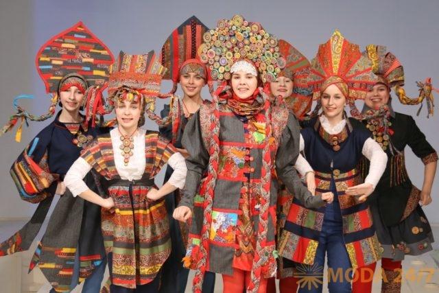 XXI Национальный конкурс детских театров моды