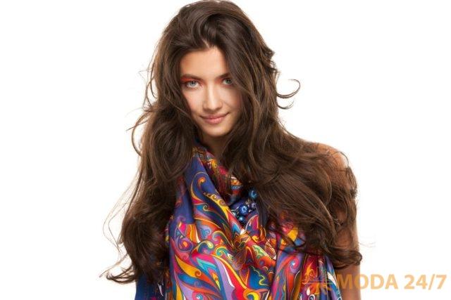 Коллекция платков и шалей по мотивам легенды о цветке «Иван-да-Марья»