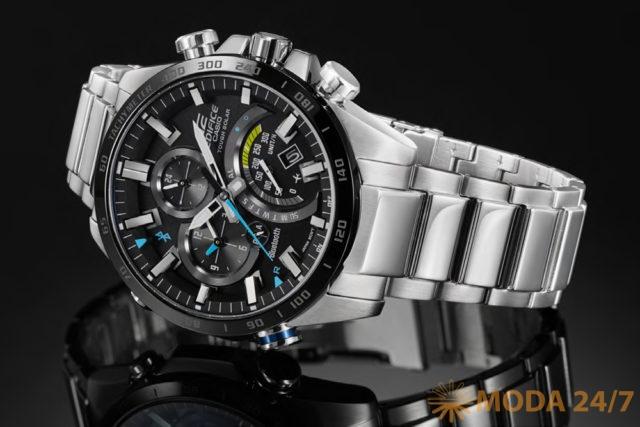 Новые высокотехнологичные часы Casio Edifice