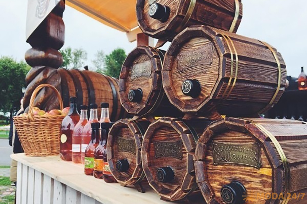 Гастрономический фестиваль Медовуха Fest в Суздале