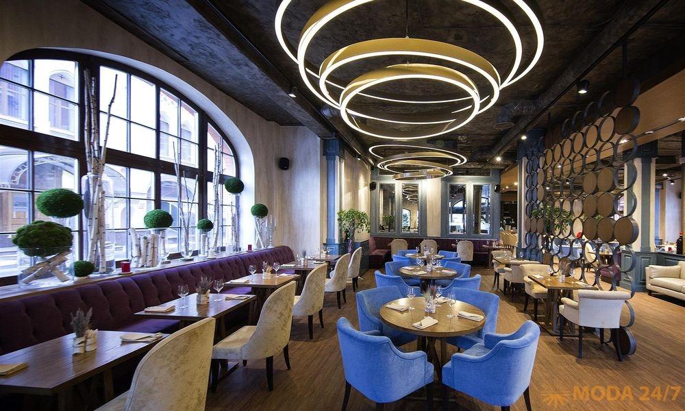 Кафе-ресторан «Есенин»: 2 года. Интерьер