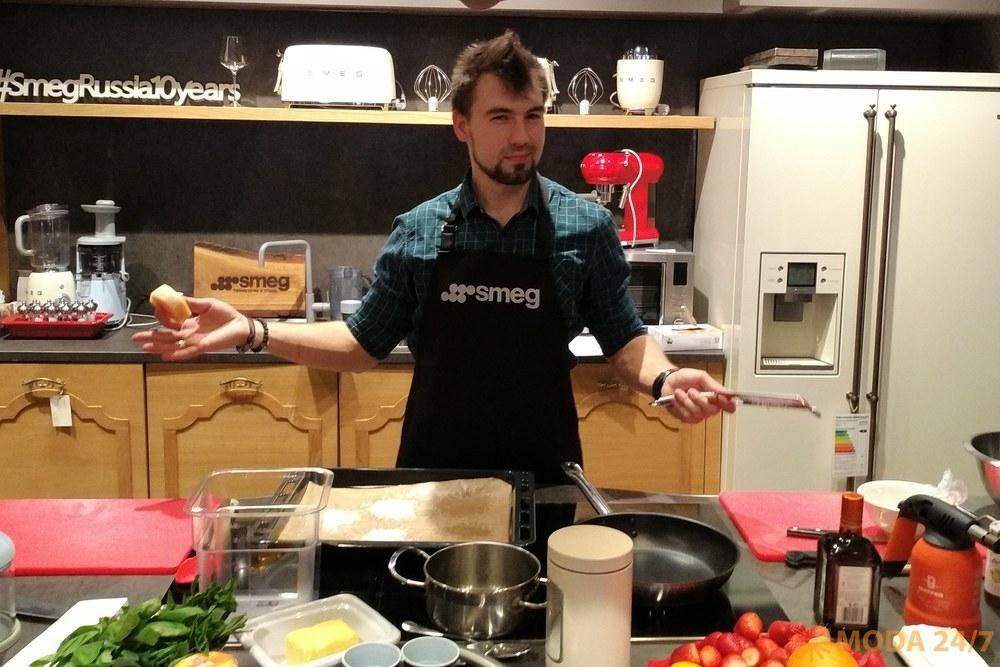 Шеф-повар Сергей Кузнецов