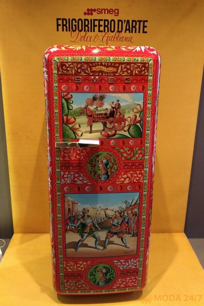 Холодильник Frigorifero d'Arte Dolce&Gabbana и Smeg