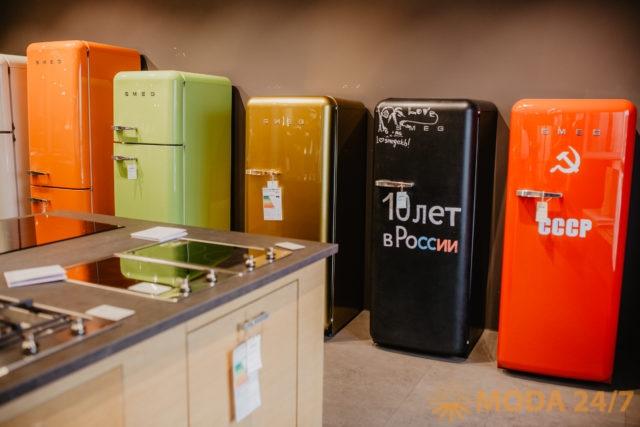 Холодильники из коллекции «Стиль 50х» (Smeg 50's style) SMEG
