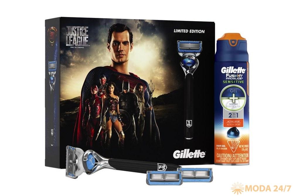 Набор Gillette Fusion Proshield Chill Лига справедливости