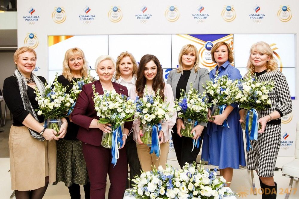 Олимпийские мамы, фигуристка Евгения Медведева и ее мама Жанна