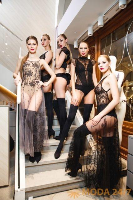 Бельё I.D. Sarrieri. Юлия Добрин I.D. Sarrieri в Москве представила коллекцию весна-лето 2018