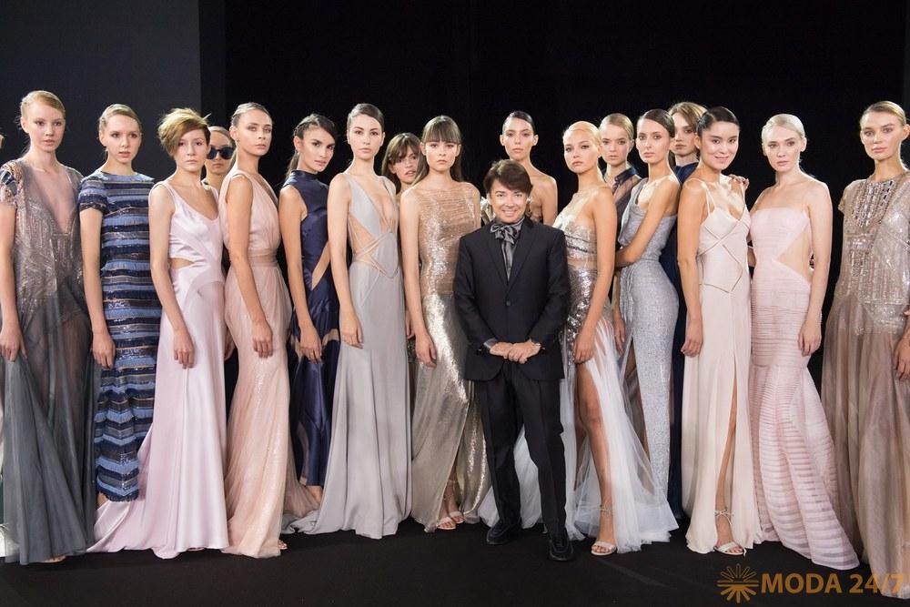 Валентин Юдашкин весна-лето 2018 (Valentin Yudashkin SS-2018). Прямая трансляция Moscow Fashion Week AW-2018/19