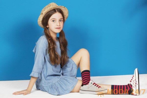 Коллекция для девочек GEOX Kids Junior Girl. В нее входит не только обувь, одежда, но и аксессуары.