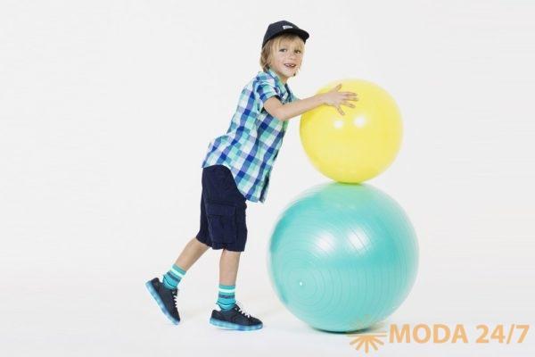 Коллекция для мальчиков GEOX Kids. В нее входит не только обувь но и одежда
