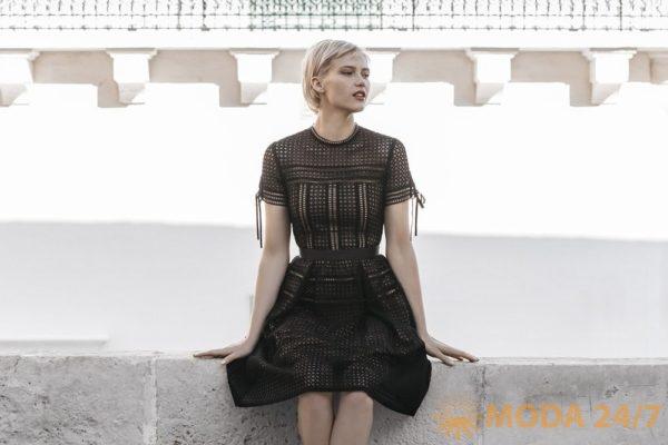 Маленькое черное платье GEOX SS-2018. Женская коллекция одежды GEOX SS-2018 (весна-лето 2018)