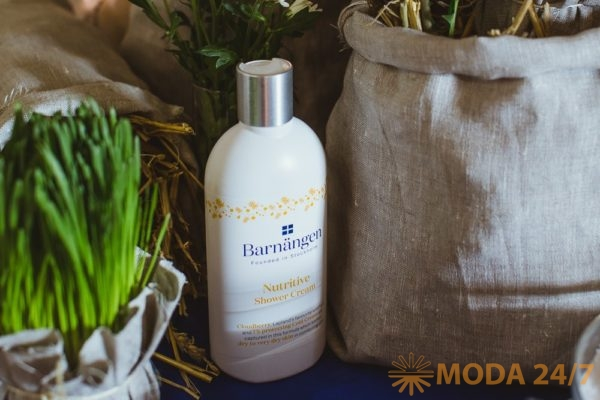 Лосьон для тела Barnängen для сухой и очень сухой кожи. Косметика для ухода за телом Barnängen