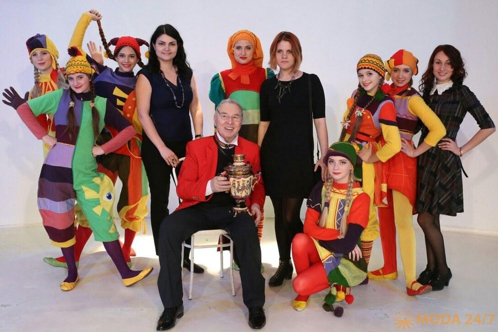 Вячеслав Михайлович Зайцев. XXII Национальный конкурс детских театров моды