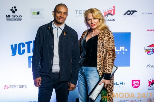 Руслан Муссунда-Кинтомбо и Джулия Дилуа. TESLA PLACE