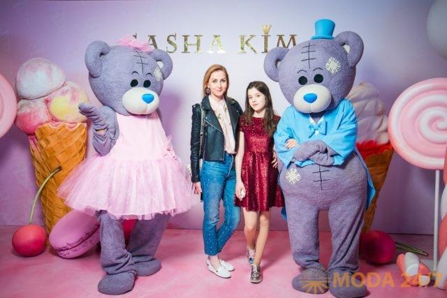Алла-Виктория Киркорова открыла показ детской одежды SASHA KIM