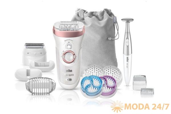Эпилятор Braun Silk-epil 9 SkinSpa SensoSmart 9/980 4 в 1. Новые эпиляторы Braun с технологией SensoSmart™ #beautyready