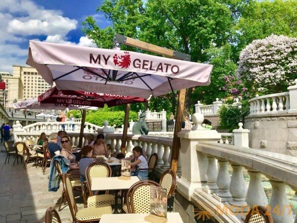My Gelato у Кремля. Джелатерии Москвы – три места для наслаждения прохладой