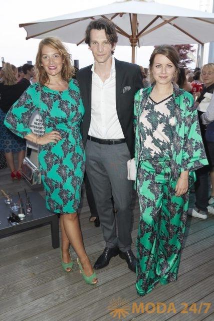 Жозефина Тиль (Josephine Thiel), Сабин Тамбреа (Sabin Tambrea) и Алиса Двиер (Alice Dwyer). Laurèl SS-2019 (весна-лето 2019)