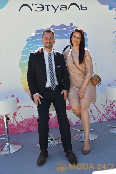 Изабель фон Каенель (Isabelle von Kaenel), СОО и руководитель отдела разработки и Хайко Вертвайн (Heiko Werthwein), маркетинг-директор BRONX COLORS. 6 новых брендов декоративной косметики Л'Этуаль