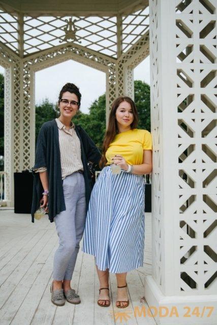 Анастасия Гордиенко и Стефания Некрасова. Johnnie Fizz на Park Live