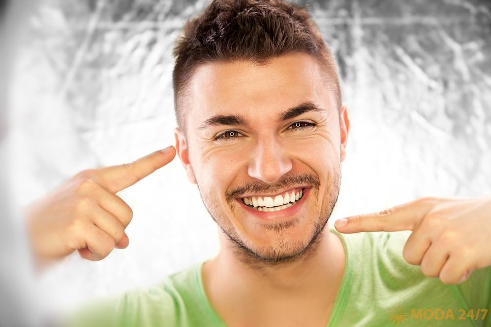 Здоровые зубы мужчины: 10 советов
