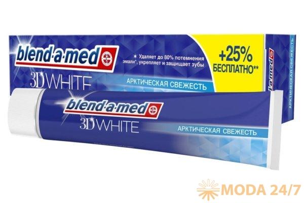 Blend-a-med 3D White «Арктическая Свежесть». Здоровые зубы мужчины: 10 советов