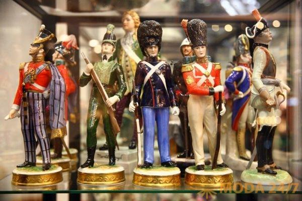 Коллекция оловянных солдатиков. Юбилейный «Блошиный рынок» на Тишинке