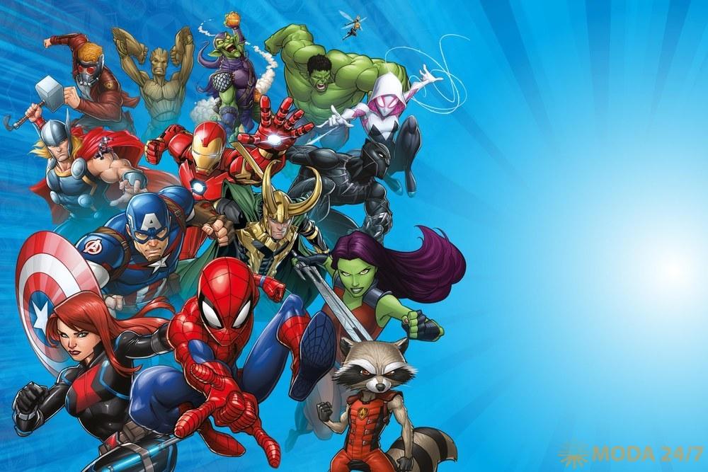 «Герои Marvel» в Пятерочке