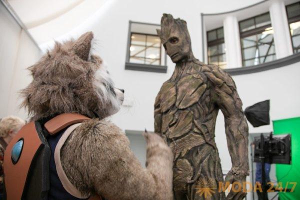 Енот-Ракета и Грут. «Герои Marvel» в Пятерочке