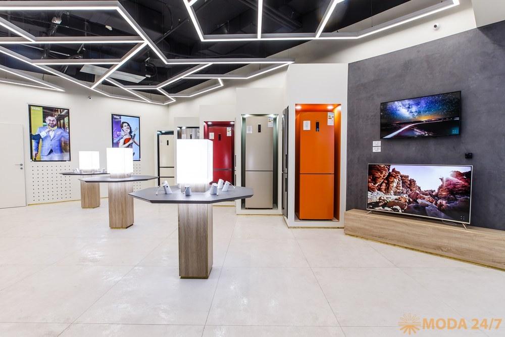 Телевизоры Haier. Первый магазин Haier в России