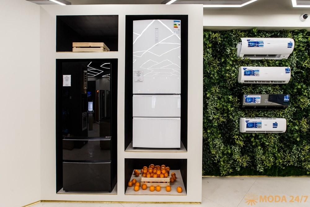 Холодильники Haier. Первый магазин Haier в России