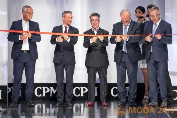 Валентин Юдашкин на церемонии торжественного открытия выставки CPM – Collection Première Moscow. Звездный десант на CPM MOSCOW