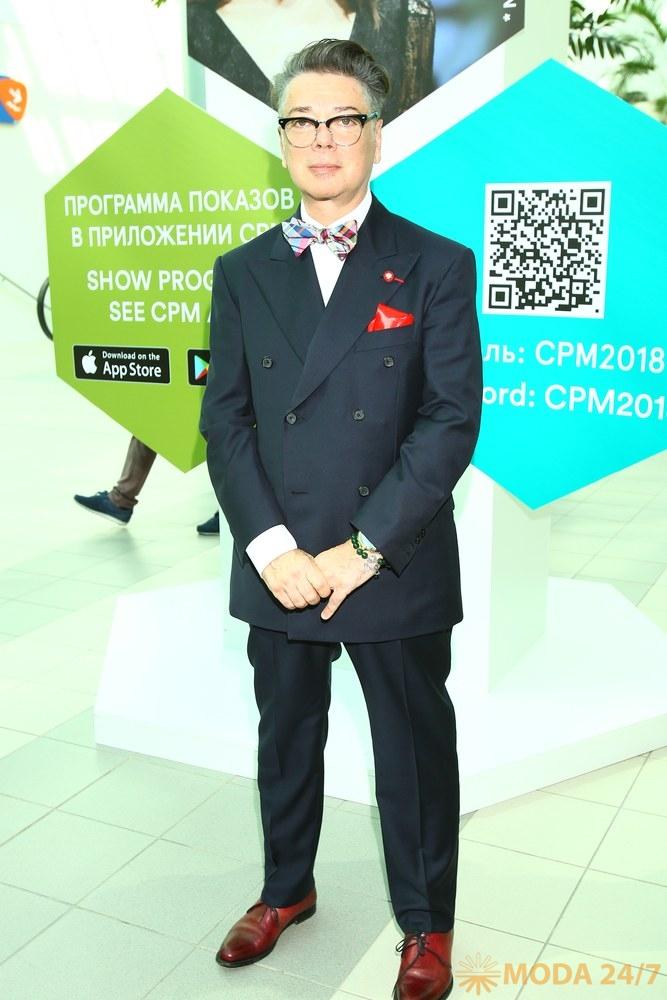Валентин Юдашкин. Звездный десант на CPM MOSCOW