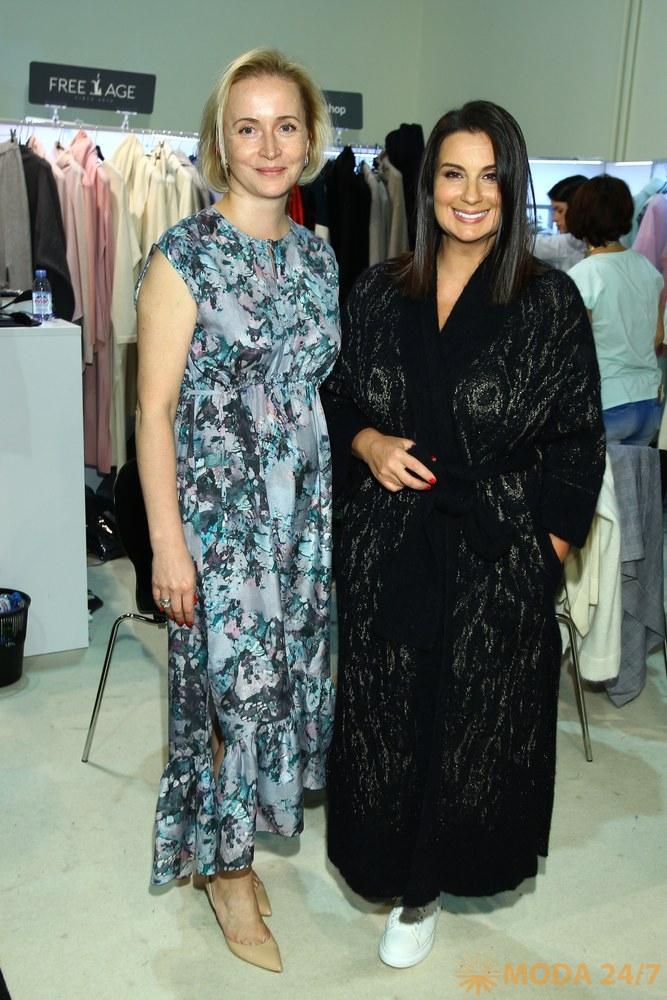 Татьяна Затравина (Free Age) и Екатерина Стриженова. Звездный десант на CPM MOSCOW