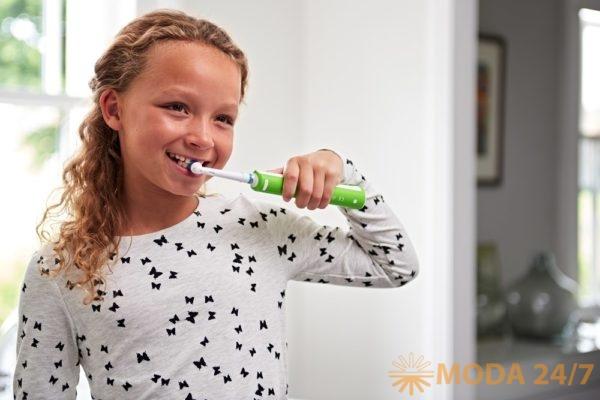 Oral-B Junior: здоровые зубы прежде всего