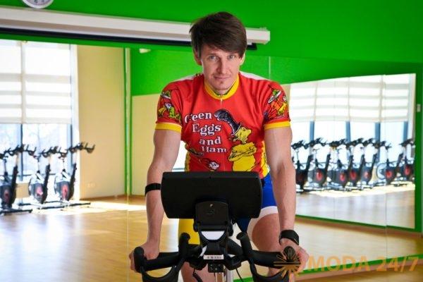Антон Шапочка. X-Race My Ride – велопрогулка не выходя из фитнес-клуба X-Fit