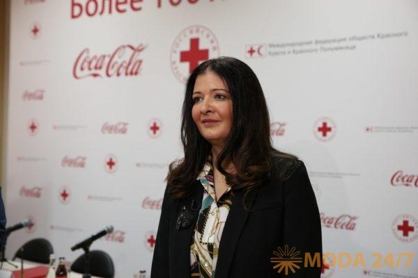 Лана Попович. Coca-Cola пополнила запасы воды Российского Красного Креста на случай ЧС