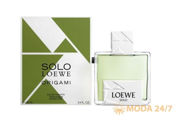 Флакон Solo Loewe Origami. Solo Loewe Origami