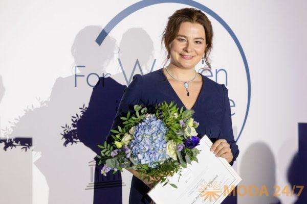 Анастасия Ефименко. Фонд L'ORÉAL-UNESCO вручил стипендии «Для женщин в науке»