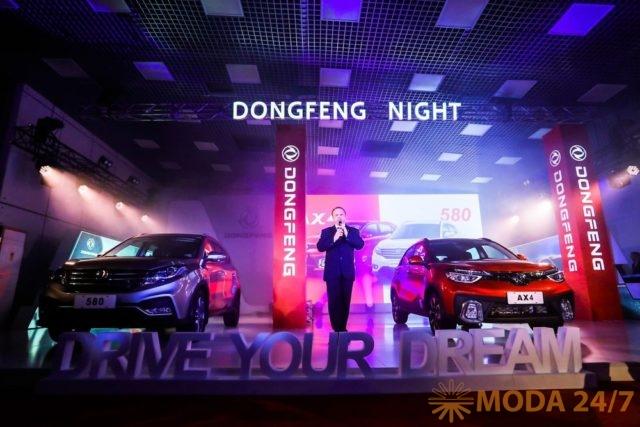 Dongfeng Night представила два новых кроссовера AX4 и 580