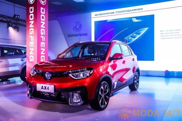 Dongfeng AX4. Dongfeng Night представила два новых кроссовера AX4 и 580